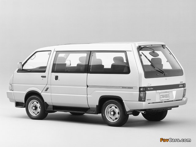 Images of Nissan Vanette Largo Coach (GC22) 1986–93 (640 x 480)