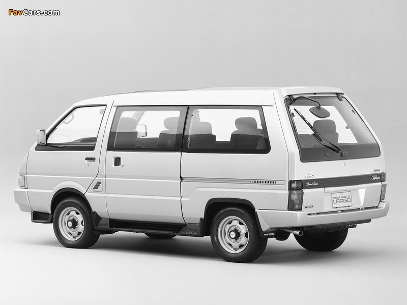 Images of Nissan Vanette Largo Coach (GC22) 1986–93 (800 x 600)