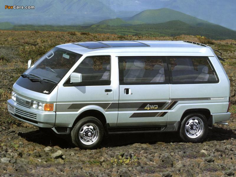 Pictures of Nissan Vanette Largo Coach (GC22) 1986–93 (800 x 600)