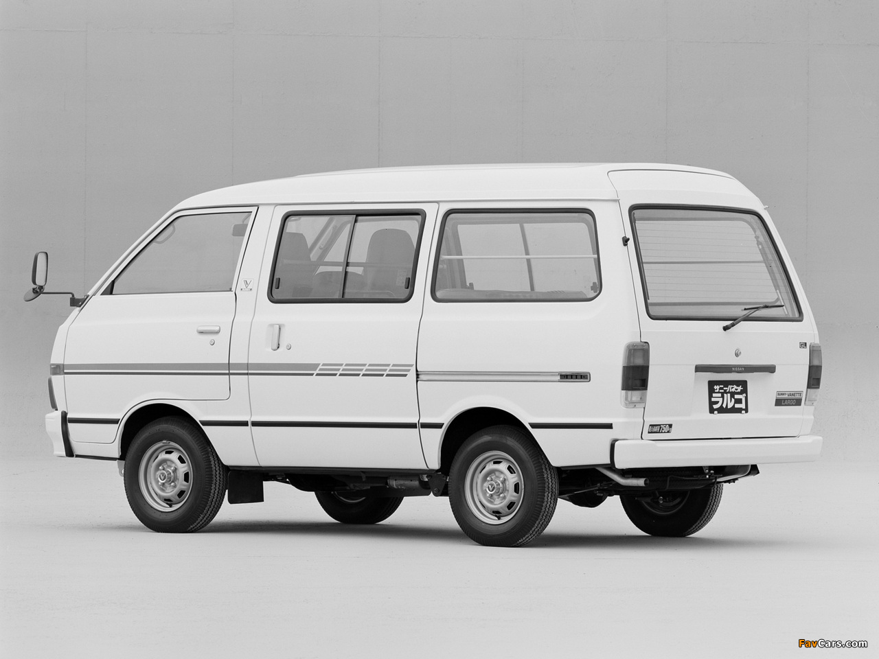 Nissan Sunny Vanette Largo (GC120) 1982–86 wallpapers (1280 x 960)