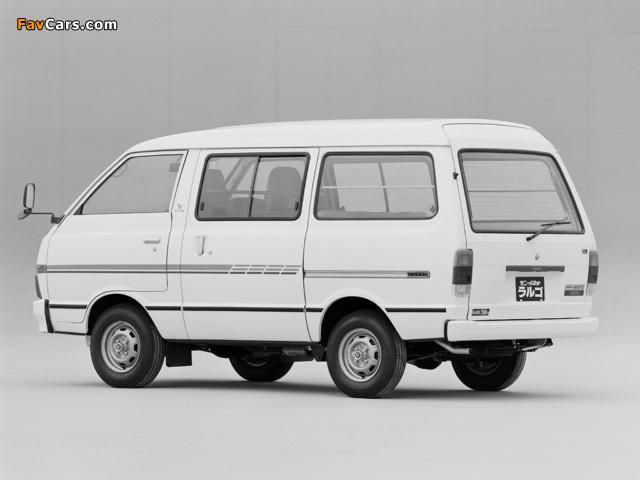 Nissan Sunny Vanette Largo (GC120) 1982–86 wallpapers (640 x 480)