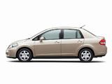 Nissan Tiida Latio JP-spec (SC11) 2008–12 pictures