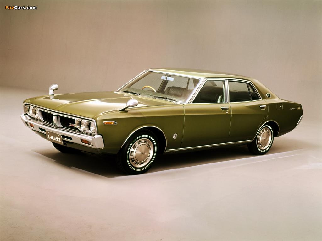 Images of Nissan Laurel Sedan (C130) 1972–74 (1024 x 768)