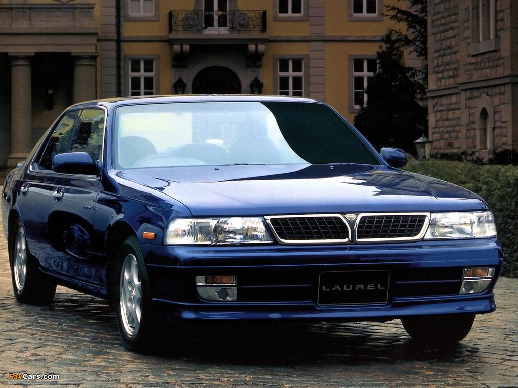 Images of Nissan Laurel Club S (C34) 1993–94 (1024 x 768)
