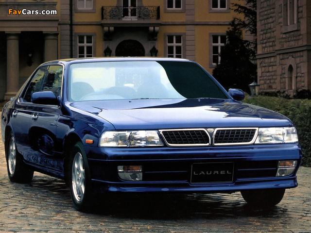 Images of Nissan Laurel Club S (C34) 1993–94 (640 x 480)