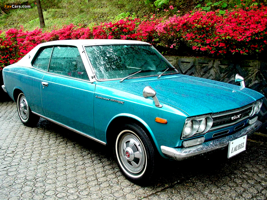 Nissan Laurel Hardtop (C30) 1968–72 photos (1024 x 768)