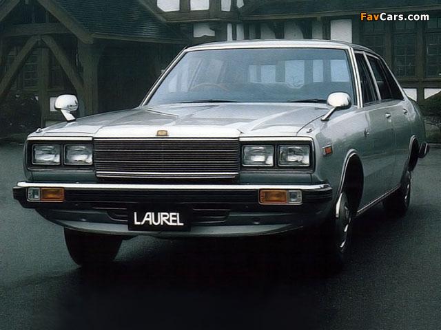 Nissan Laurel Sedan (C231) 1978–80 pictures (640 x 480)