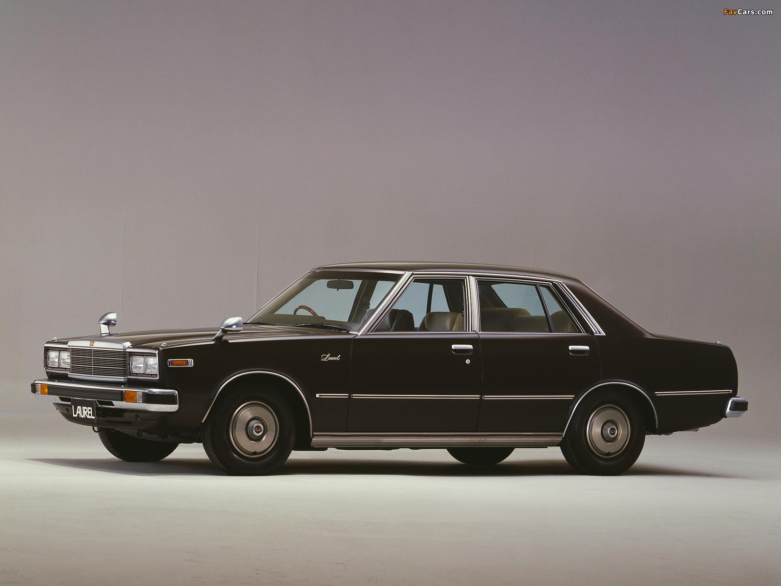 Nissan Laurel Sedan (C231) 1978–80 wallpapers (1600 x 1200)