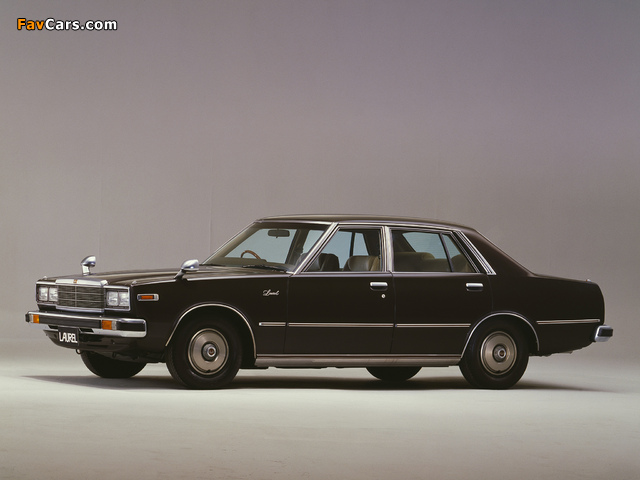 Nissan Laurel Sedan (C231) 1978–80 wallpapers (640 x 480)