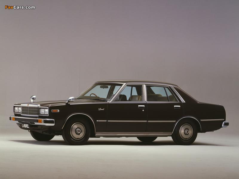 Nissan Laurel Sedan (C231) 1978–80 wallpapers (800 x 600)