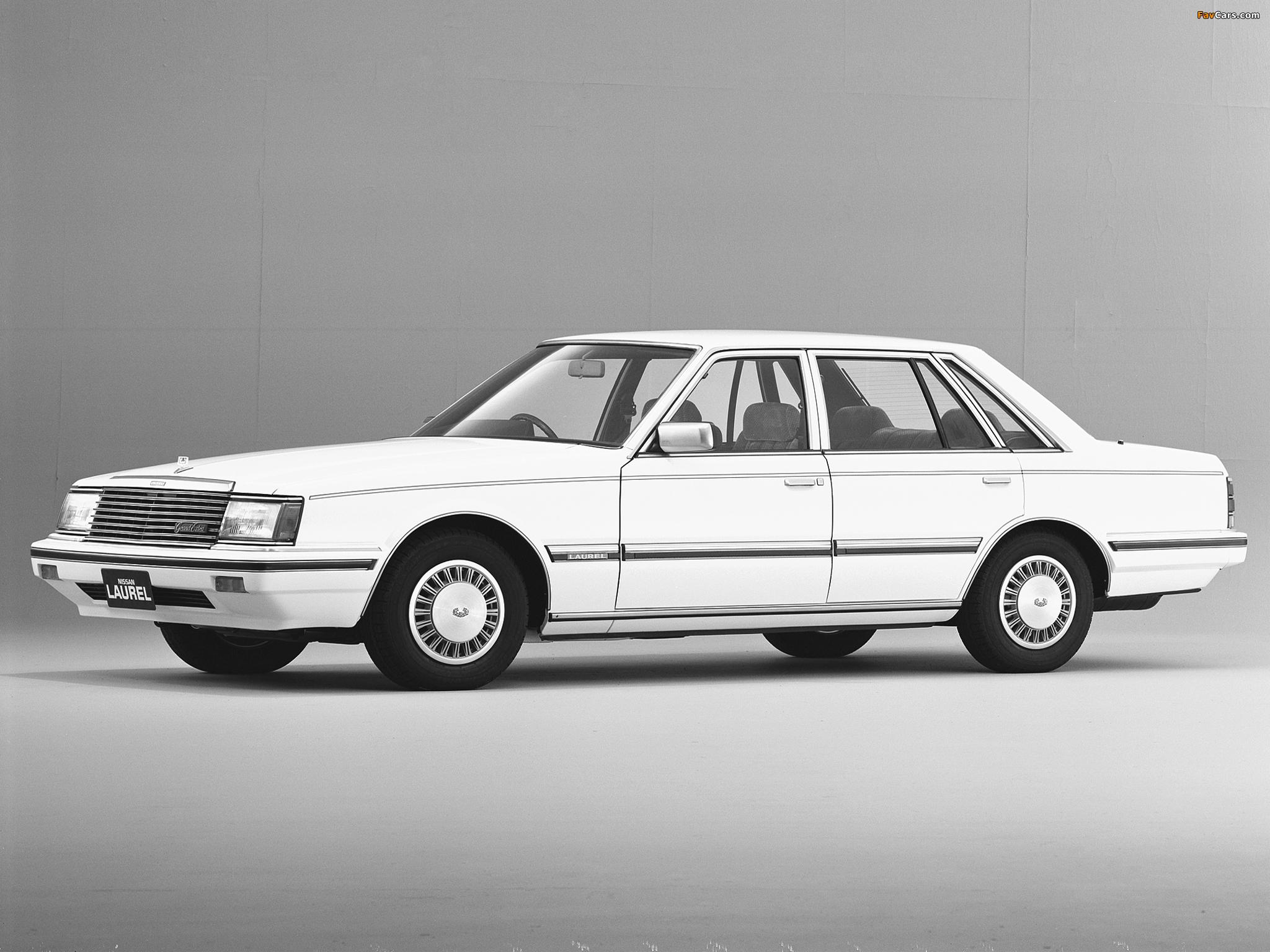 Nissan Laurel Sedan (31) 1982–84 photos (2048 x 1536)