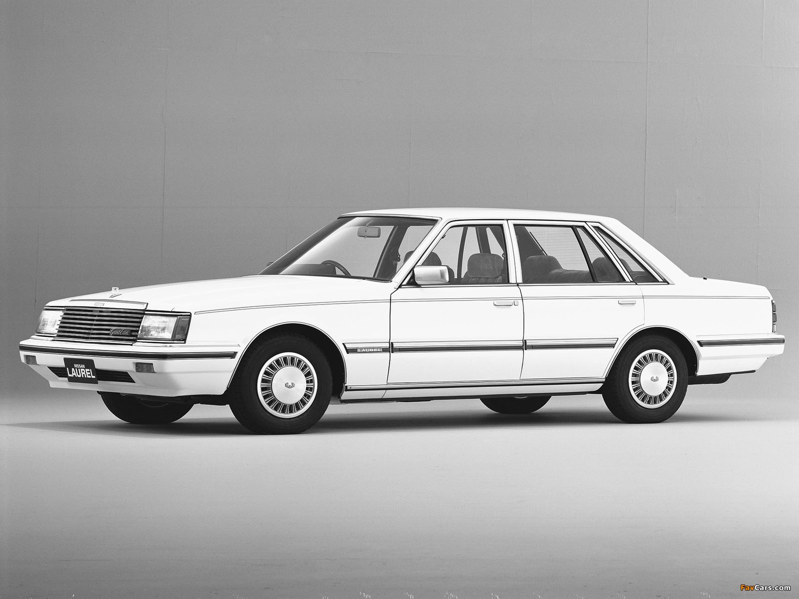Nissan Laurel Sedan (31) 1982–84 photos (1600 x 1200)