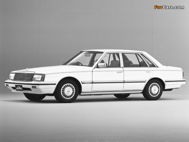 Nissan Laurel Sedan (31) 1982–84 photos (640 x 480)