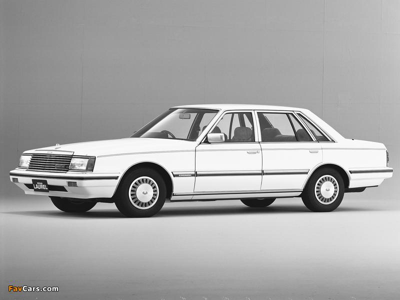 Nissan Laurel Sedan (31) 1982–84 photos (800 x 600)