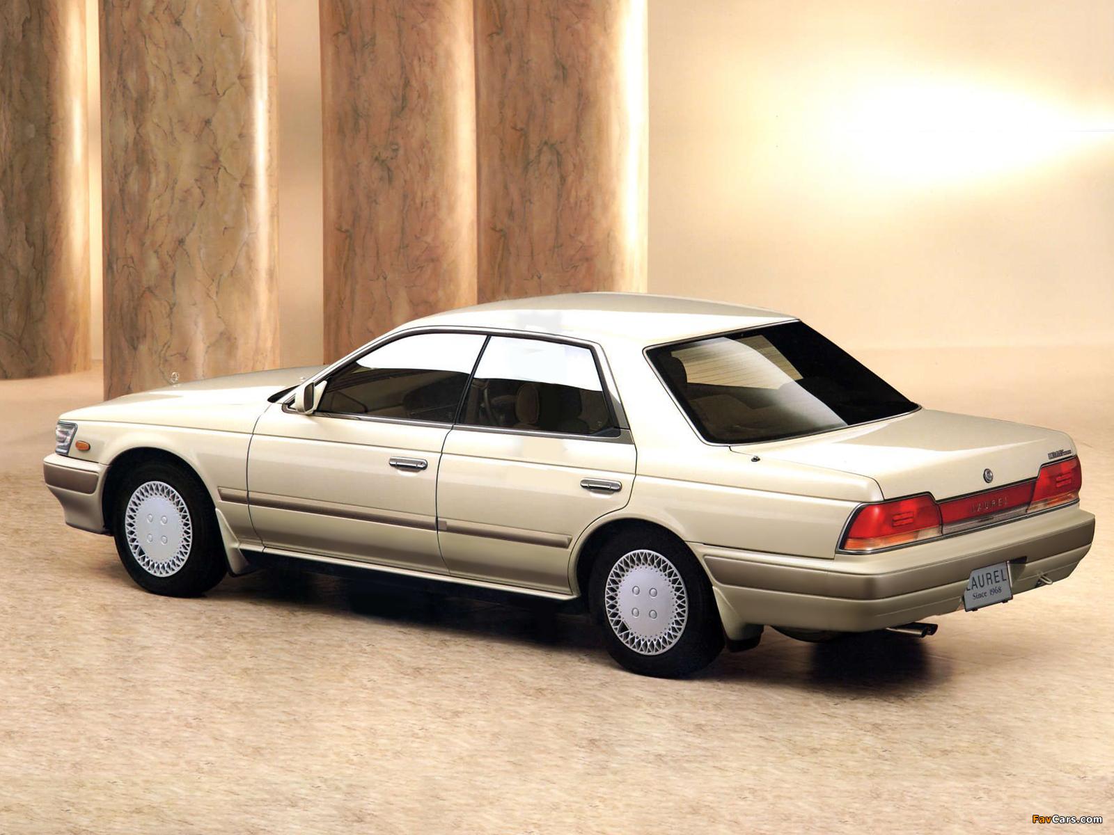 Nissan Laurel (C33) 1989–93 wallpapers (1600 x 1200)