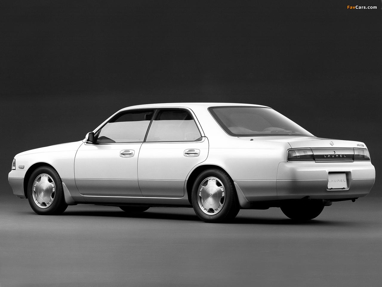 Nissan Laurel (C34) 1993–94 images (1280 x 960)