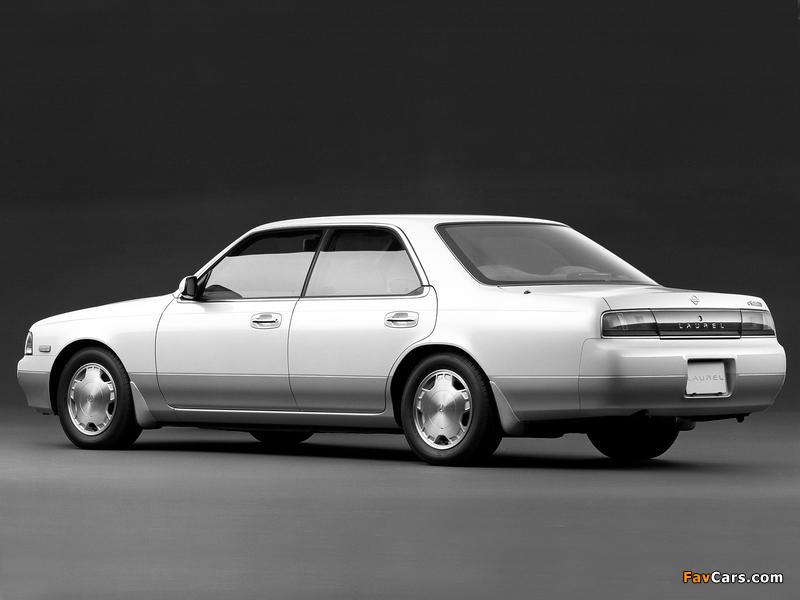 Nissan Laurel (C34) 1993–94 images (800 x 600)