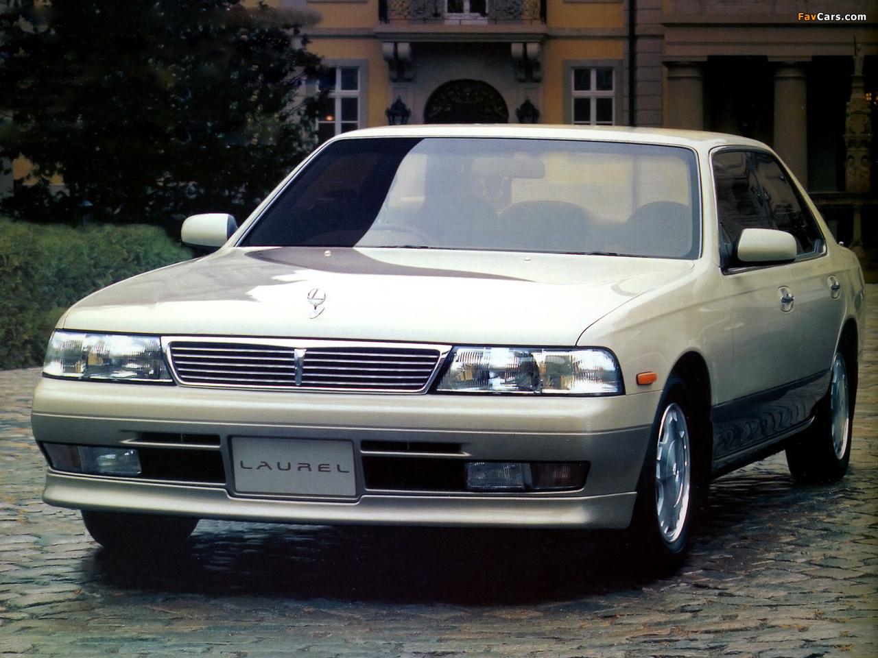 Nissan Laurel (C34) 1993–94 photos (1280 x 960)