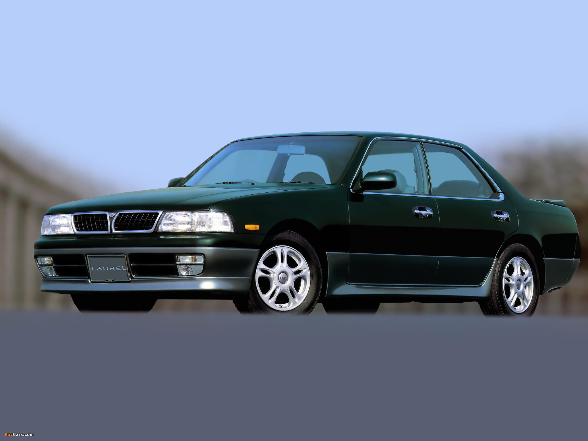 Nissan Laurel Club S (C34) 1993–94 wallpapers (2048 x 1536)