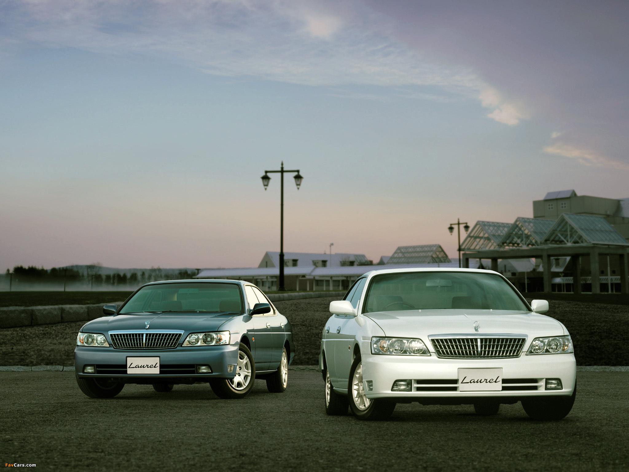 Nissan Laurel (C35) 1999–2002 photos (2048 x 1536)
