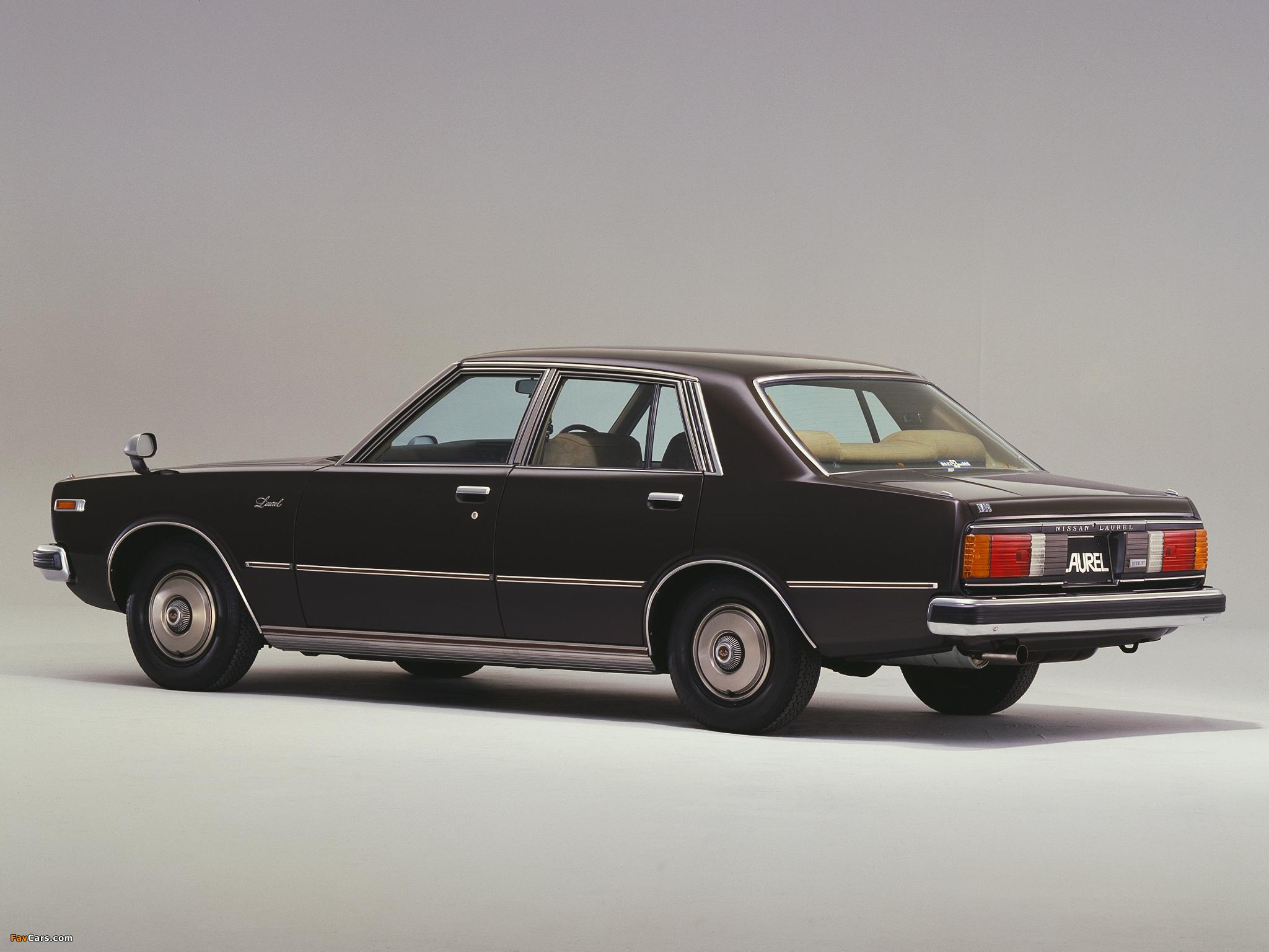 Pictures of Nissan Laurel Sedan (C231) 1978–80 (2048 x 1536)