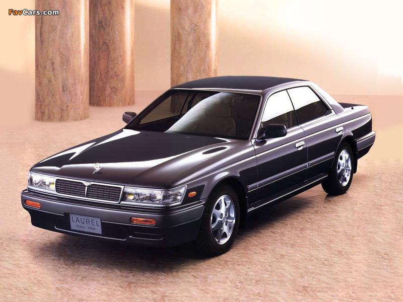 Pictures of Nissan Laurel (C33) 1989–93 (800 x 600)