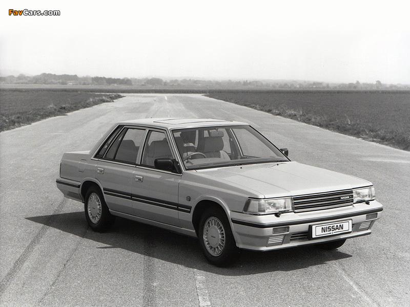 Nissan Laurel Sedan (C32) 1986–93 wallpapers (800 x 600)