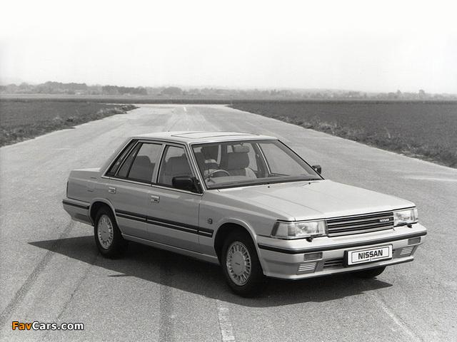 Nissan Laurel Sedan (C32) 1986–93 wallpapers (640 x 480)