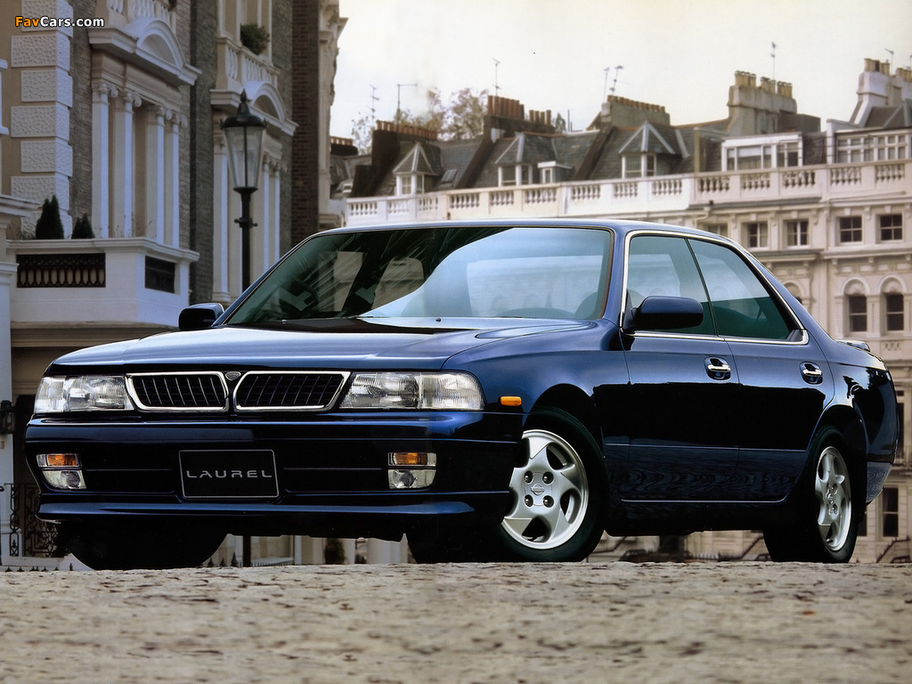 Nissan Laurel Club S (C34) 1993–94 wallpapers (1024 x 768)