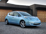 Images of Nissan Leaf US-spec Prototype 2010
