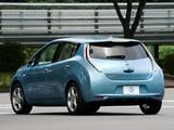 Images of Nissan Leaf JP-spec (ZEO) 2010