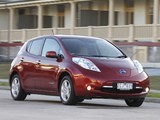 Images of Nissan Leaf AU-spec 2012