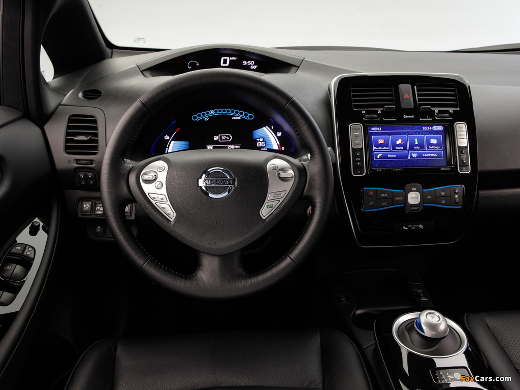 Images of Nissan Leaf US-spec 2013 (1024 x 768)
