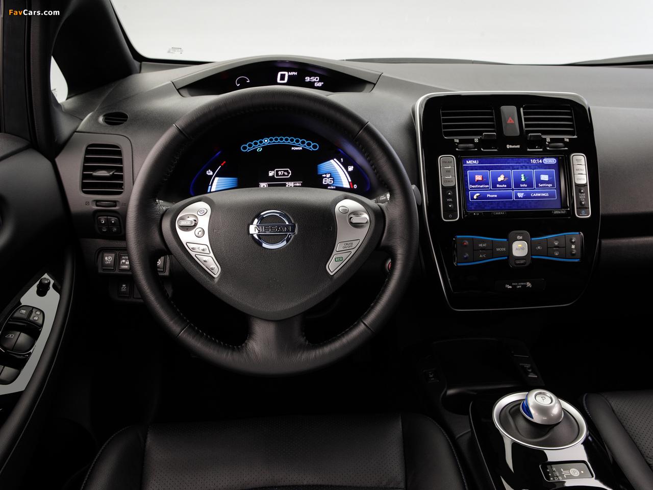 Images of Nissan Leaf US-spec 2013 (1280 x 960)