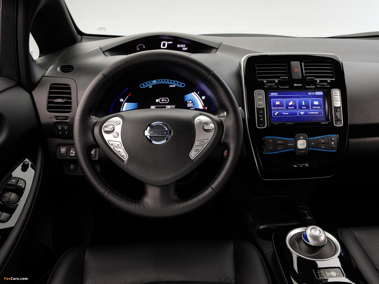 Images of Nissan Leaf US-spec 2013 (1600 x 1200)