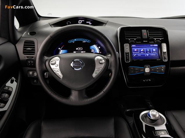 Images of Nissan Leaf US-spec 2013 (640 x 480)