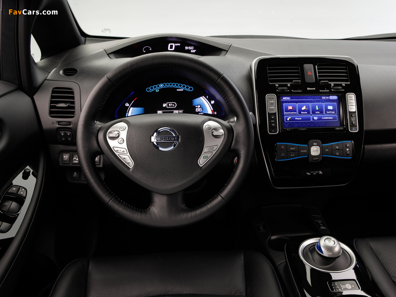 Images of Nissan Leaf US-spec 2013 (800 x 600)