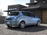 Nissan Leaf US-spec Prototype 2010 images