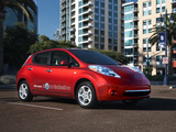 Nissan Leaf US-spec 2010–13 photos