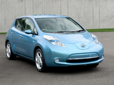 Nissan Leaf JP-spec (ZEO) 2010 photos