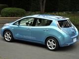 Nissan Leaf JP-spec (ZEO) 2010 pictures