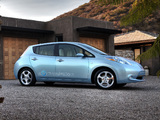 Nissan Leaf US-spec Prototype 2010 pictures