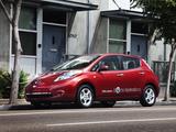 Nissan Leaf US-spec 2010–13 pictures