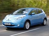 Nissan Leaf UK-spec 2011 photos
