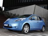Nissan Leaf AU-spec 2012 photos