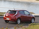 Nissan Leaf AU-spec 2012 pictures