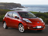 Nissan Leaf AU-spec 2012 wallpapers