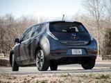 Nissan Leaf US-spec 2013 images