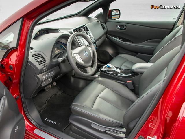 Nissan Leaf 2013 photos (640 x 480)