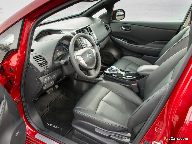 Nissan Leaf 2013 photos (800 x 600)